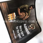 Buy cheap Anti-slip neoprene mat anti fatigue rubber bar mat with printing logo from wholesalers