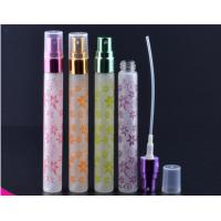 Buy cheap 10ml butterfly frosting cosmetic packaging bottle Portable perfume glass tube bottles product