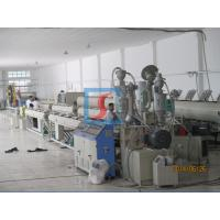 Buy cheap Plastic HDPE pipe extrusion machine 800kg/h  - 1500kg/h with single screw from wholesalers