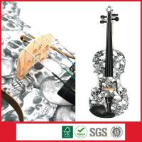 Buy cheap Student Violin With Skull Design,Your Personalized Musical Instrument from wholesalers