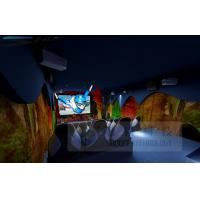 Buy cheap Amazing 5D Cinema System With 7 Sets 3 People/Set Leather Chiars product