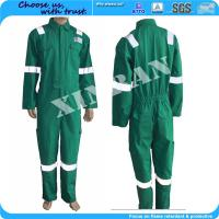 Buy cheap Oil and gas field Bomber ppe china manufacture Fireproof Nomex Antistatic Work Uniform in fire suit from wholesalers