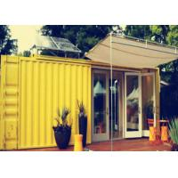 Buy cheap Aluminum Door Combined Container 5800mm * 2250mm * 2500mm For Coffee Shop from wholesalers