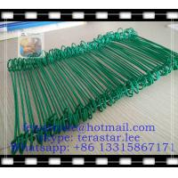 Buy cheap 12 Double-loop, PVC-coated Wire Ties (100/bag) / double tie wire from wholesalers