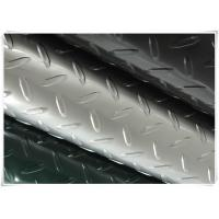 Buy cheap Bending Aluminum Diamond Plate , 20 Gauge Diamond Aluminum Sheet Metal  from wholesalers
