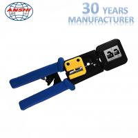 Buy cheap 8P6P Network Punch Down Tool Modular Crimping Plier EZ RJ45 SGS Certification from wholesalers