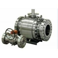 China Forged Steel Cast Steel Ball Valve , Trunnion Mounted Ball Valve on sale