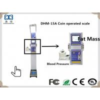 Buy cheap DHM-15A Human BMI ,Blood Pressure ,Heart Rate and Themometer Analysis Instrument with height and weight Machine from wholesalers