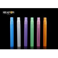 Buy cheap Refillable PP Pen Spray Bottle , 15ml Plastic Perfume Bottles 17mm Diameter from wholesalers