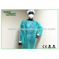 Buy cheap Water Resistant Disposable Isolation Gowns / Disposable Jumpsuits from wholesalers