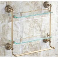 Buy cheap Newly constructed Custom home clear float glass shelf brackets for keeping space unclutter from wholesalers
