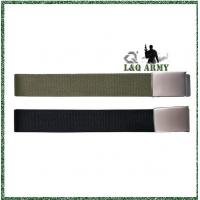 Buy cheap New Arrival Leisure Army Canvas Belts & sliding metal clasp from wholesalers