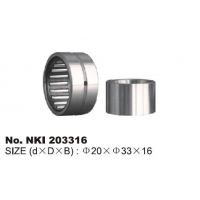 Buy cheap NKI203316 Needle Roller Textile Machinery Bearings from wholesalers