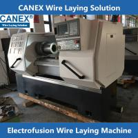 Buy cheap CX-32/160ZF Poly pipe fittings wire laying machine from wholesalers