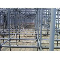 Buy cheap Water Resistant Galvanized ERW Steel Pipe Scaffolding Tube For Construction Building from wholesalers
