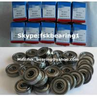 Buy cheap 608 ZZ Double Shielded Miniature Ball Bearing for Skateborad 8mm x 22mm x 7mm from wholesalers