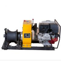 Buy cheap Power Construction Portable Capstan Winch , Hoist Pole Setting 8 Ton Winch from wholesalers