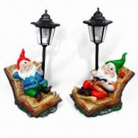 Buy cheap Polyresin Santa Claus, Suitable for Craft and Christmas Gifts, Customized Designs are Accepted from wholesalers