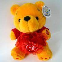 Buy cheap Cute Plush Toys for baby, Valentine's Day Present, Golden Bear Plush with Heart and Music. from wholesalers