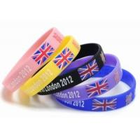 Buy cheap Silicone Wristband / Printed Silicone Wristband with Color Filled for Promotional Gift from wholesalers