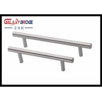 Buy cheap Pearl Silver 96mm Plastic Drawer Pulls Freezer Door Handles Customized Cabinet  D Handles from wholesalers