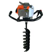 Buy cheap 2 Stroke Gasoline Powered Earth ground hog post hole digger with Metal Material from wholesalers