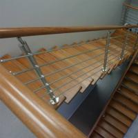 Buy cheap 304 316 Grade Sainless Steel / Inox Square Pipe Railing for Home Stair from wholesalers