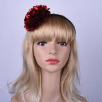 Buy cheap Single Fashion Big Flower Bow Hair bands For Ladies Hair Accessories Headband from wholesalers