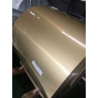Buy cheap Metal Gloss Color Coated Galvanized Steel Coil Organic Coating Thickness 20-45μM from wholesalers