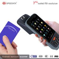 Android 4.4.2 Biometric Fingerprint Scanner Ip65 With NFC Reader