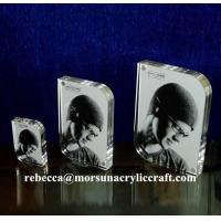 Buy cheap Magnetic High Transparent Acrylic Photo Frame / Perspex Picture Holder from wholesalers