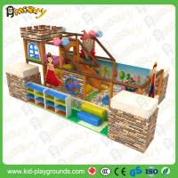Buy cheap Galvanized Pipe Children Commercial Indoor Exercise Playground Equipment  soft playhouse infant toddler from wholesalers