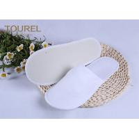 Buy cheap 3mm EVA Nap Cloth Disposable Spa Slippers For Budget Hotel Bedroom Slippers from wholesalers