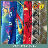 Buy cheap 100% Polyester Print 230 GSM Auto Upholstery Fabric For Seat Cover 150 CM Width product