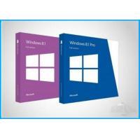 Custom Language Windows 8.1 Pro Retail Box , Windows 8.1 SP1 1GHz Processor