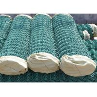Buy cheap 100 Foot Green PVC Coated Chain Link Fence 5 X 5 CM For Garden Decoration from wholesalers