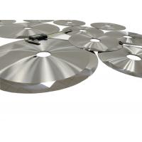 Buy cheap Circular Tungsten Carbide Slitter Blades For Lithium Battery With Single Sharp Edge from wholesalers