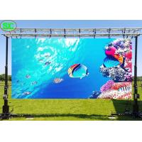 Buy cheap Movable P8 Rental Outdoor Led Advertising Display Board for Event Stage Show from wholesalers