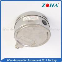 Buy cheap 100mm Steam Stainless Steel Pressure Gauge With Zero Adjustment Pointer from wholesalers