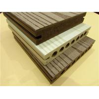 Buy cheap Embossing Galling WPC Composite Decking Solid PVC Plastic Deckings from wholesalers