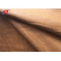 Buy cheap Foil Bronzed Warp Knit Micro Suede Polyester Fabric Faux Suede For Shoes from wholesalers