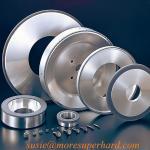 Buy cheap Vitrified diamond grinding wheel from wholesalers