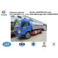 Buy cheap Good quality China FAW 6 wheel 10000 liters crude oil truck for sale, Wholesale FAW brand 4*2 LHD fuel tank truck from wholesalers