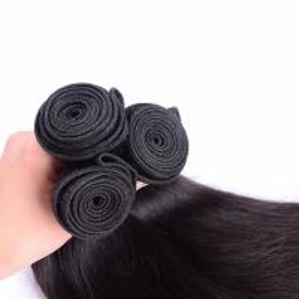 "Buy cheap Brazilian Virgin 8"" - 30"" Hair Weaving Straight Wave Human Hair Extesnion from wholesalers"