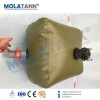 Buy cheap 5000L UV/ Heat Resistance Soft Flexible TPU Water Storage Tank Collapsable Fabric Fuel Tank from wholesalers