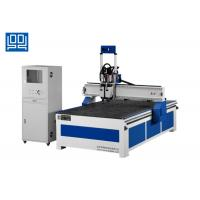 Buy cheap Panel Furniture Computer Wood Router Machine Double Spindle 6Kw Air Cooled from wholesalers