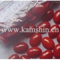 Buy cheap Dyed Red Coral Cabochons from wholesalers
