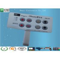 Buy cheap Embossing Polydome Switch With Led Display Band , Tactile Membrane Push Button Switch from wholesalers