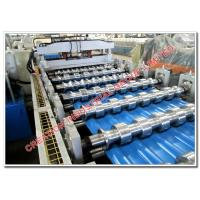 Buy cheap Aluminium Metcopol and Step-tiles Roofing Sheet Corrugating Machine from wholesalers