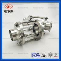 Buy cheap Food Grade Sanitary Tank Fittings Durable Straight Type  Pipe Sight Glass from wholesalers